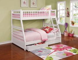 Ashton Collection 460180 Twin/Full Bunk Bed
