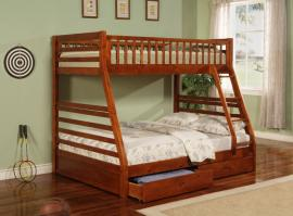Ashton Collection 460183 Twin/Full Bunk Bed