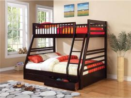 Ashton Collection 460184 Twin/Full Bunk Bed