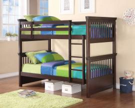 Wise Collection 460266 Twin/Twin Bunk Bed