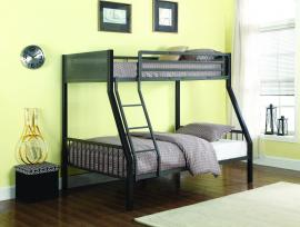 Meyers Collection 460391 Two-Tone Twin/Full Bunk Bed