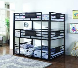 Rogen Collection 460394F Triple Full Bunk Bed