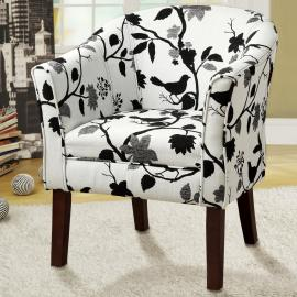 Floral Collection 460406 Accent Chair