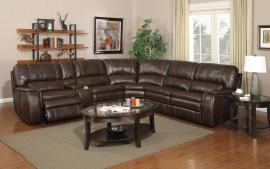 Belmont Collection 4753 Brown Power Reclining Sectional