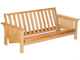 Cardinal Collection 4838 Natural Finish Futon Frame Only
