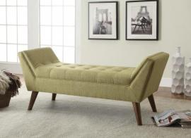 Green Fabric 500006 Retro Style Bench