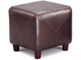 Cubed Shape Dark Brown Ottoman by Coaster 500124