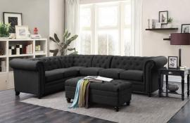 Roy Grey Sectional 500292 Sectional Sofa