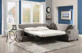 Tess Collection 500727 Queen Sleeper Sectional Sofa