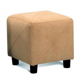 Cubed Shape Taupe Ottoman by Coaster 500944