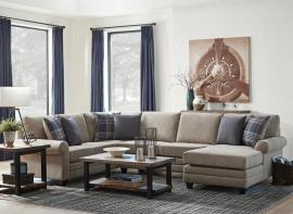 Scott Living Summerland 501139 Reversible Chaise Sectional Sofa