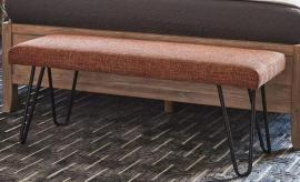 Scott Living 501548 Burnt Orange Bench