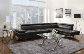 Piper Collection 503029 Charcoal Sectional Sofa