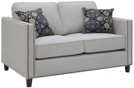 Coltrane Collection by Coaster 506252 Putty Woven Fabric Loveseat
