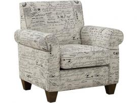 Bardem Collection by Coaster 506263 Script Fabric Chair
