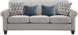Gideon Collection by Coaster 506401 Cement Warp knit Fabric Sofa