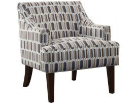 Gideon Collection by Coaster 506403 Pattern Fabric Chair