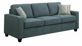 Scott Living Brownswood 506521 Blue Transitional Sofa