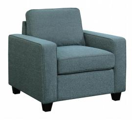 Scott Living Brownswood 506523 Blue Transitional Chair