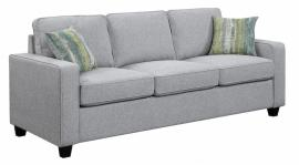Scott Living Brownswood 506531 Grey Transitional Sofa