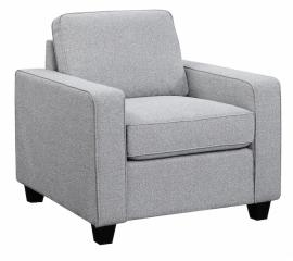 Scott Living Brownswood 506533 Grey Transitional Chair