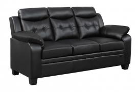 Finley Collection 506551 Black Sofa