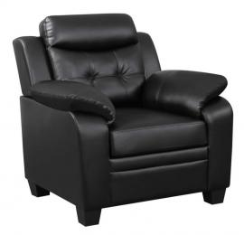 Finley Collection 506553 Black Chair