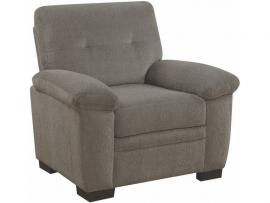 Fairbairn by Coaster 506583 Oat Chenille Fabric Chair