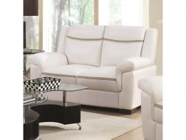 Arabella Collection 506595 Snow White Loveseat