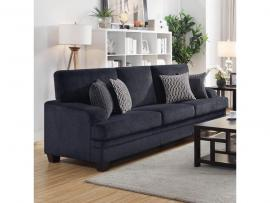 Griffin by Coaster 508391 Grey Chenille Fabric Sofa