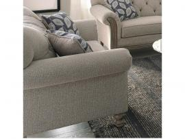 Gilmore Collection by Coaster 508542 Grey Chenille Fabric Loveseat