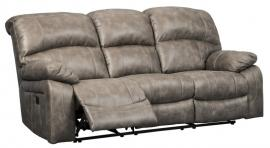 Dunwell Driftwood by Ashley 5160215 Power Reclining Sofa w/ Adjustable Headrest