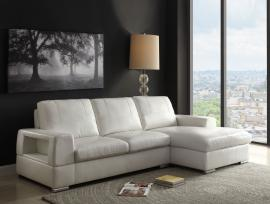 Kacence 52250 Ivory Modern Sectional Chaise