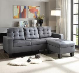 Earsom 52775 Reversible Grey Sofa Chaise