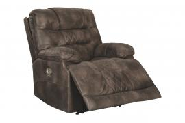 Welsford Walnut by Ashley 5430313 Power Rocker Recliner w/ Adjustable Headrest