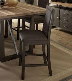 Compson by Homelegance Choclate Brown Finish 5431-24 Counter Height Chair Set of 2