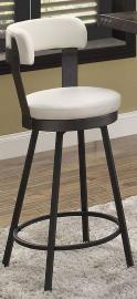 Appert by Homelegance Swivel Pub Height Chair 5566-29WT Set of 2