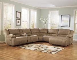 Hogan Mocha Collection 57802-07 by Ashley Furniture Sectional Sofa