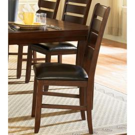 Ameilla by Homelegance Dark Oak Finish Dining Side Chair 586S Set of 2