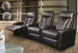 Excalibur Collection 600130 Black Theater Seating