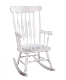 Jane Collection 600174 White Rocking Chair