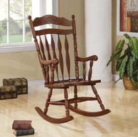 Carolina Collection 600187 Dark Walnut Rocking Chair