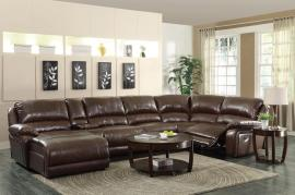 Mackenzie Collection 600357 Reclining Sectional Sofa
