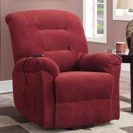 Danny Collection 600400 Brick Red Power Lift Recliner