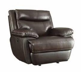 Top Grain Macpherson Motion Single Power Recliner by Coaster 601813P