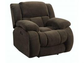 Weissman Chocolate Motion Single Recliner 601926 by Coaster