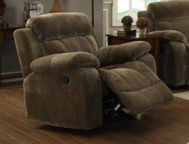 Myleene Collection 603033 Mocha Glider Recliner