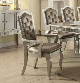 Francesca by Acme 62083 Dining Arm Chair Set of 2