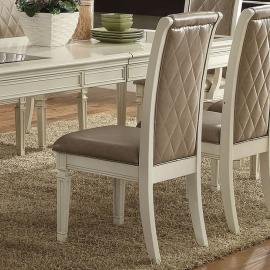 Florissa by Acme 62092 Dining Side Chair Set of 2