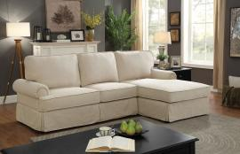 Badalona 6377BG Beige Sectional Chaise